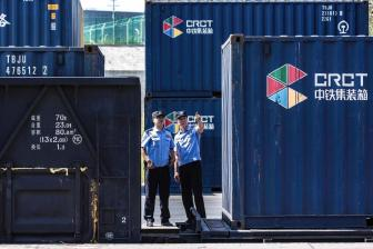 Xinjiang's Alataw Pass registers 20,000th China-Europe freight train