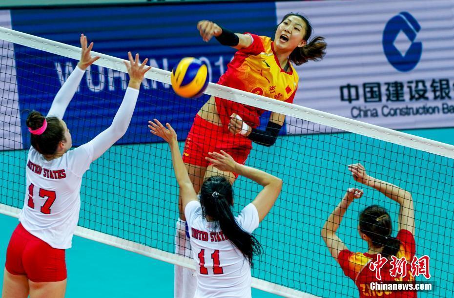 迎来开门红!中国女排以3:0击败美国队