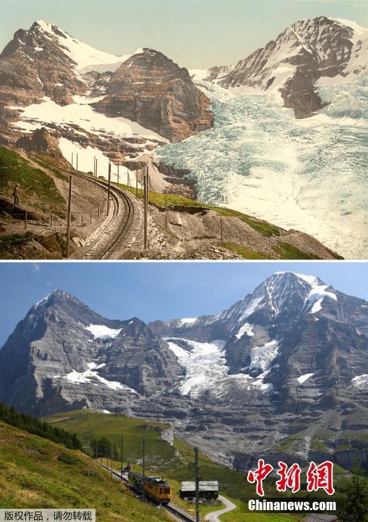 【图刊】瑞士冰川快速消融史