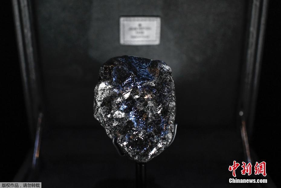世界第二大钻石原石重1758克拉 未来或被切割变为珠宝