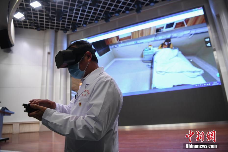 "5G""生命线""!云南上线首个5G+VR隔离探视系统"