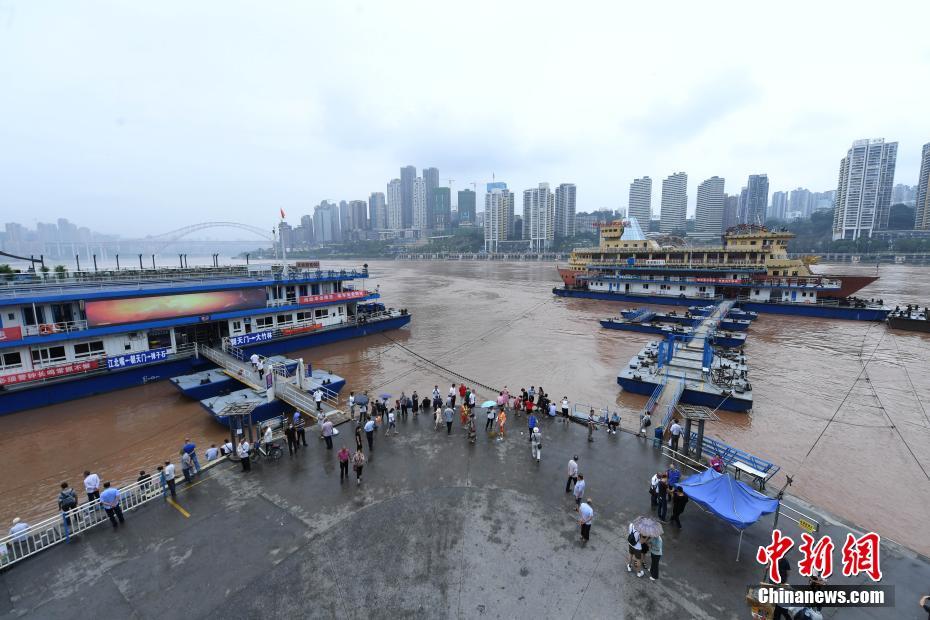 长江洪峰通过重庆主城