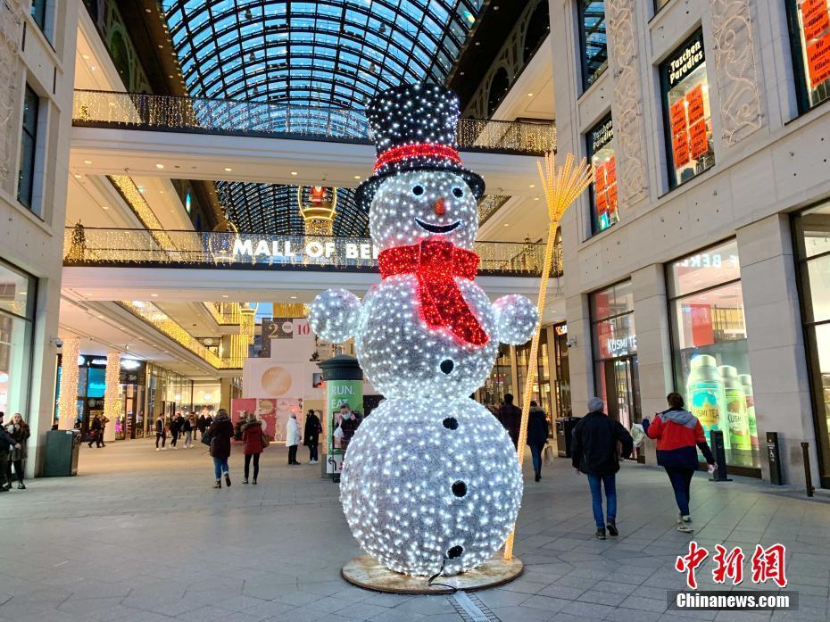 疫情下的德國柏林聖誕