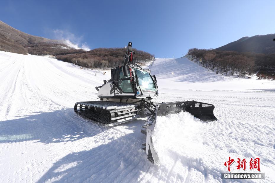 探访2022年冬奥会延庆赛区:国家高山滑雪中心