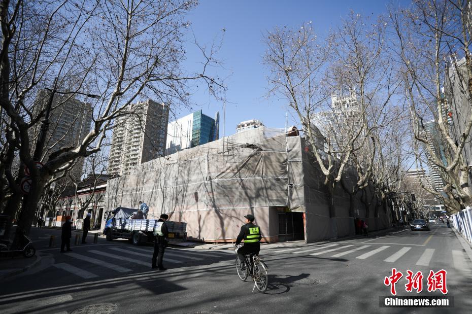探访中共一大会址纪念馆修缮现场