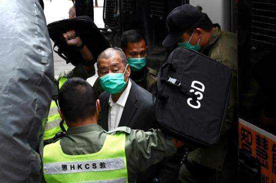 Jimmy Lai sentenced to 12 months for illegal assembly
