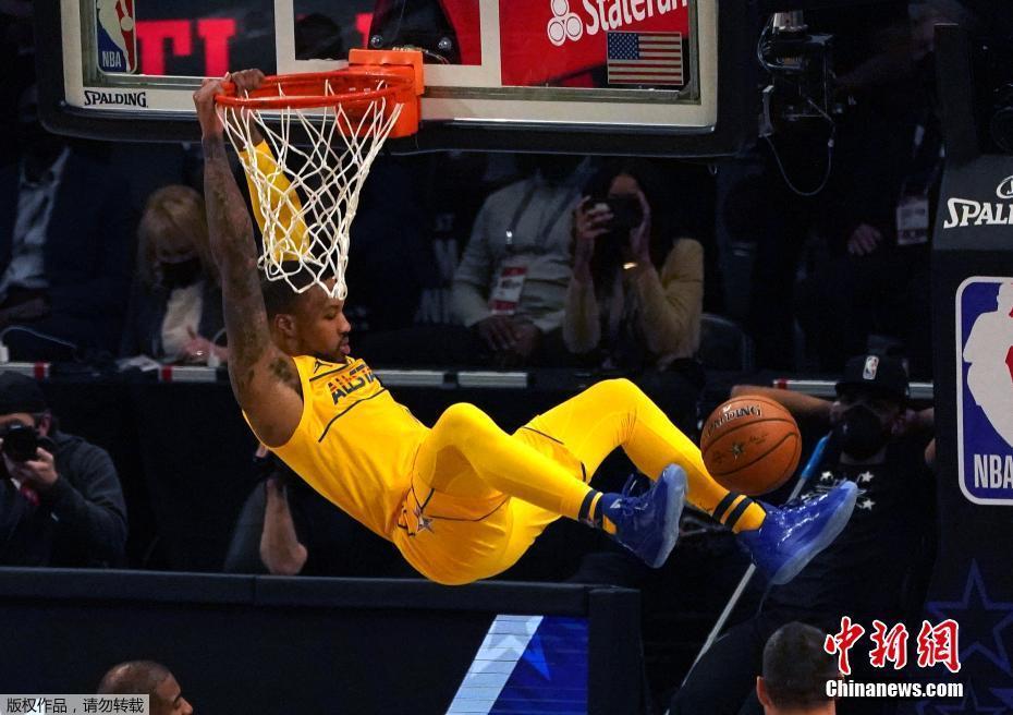 NBA全明星赛火热上演!詹姆斯队170比150击败杜兰特队