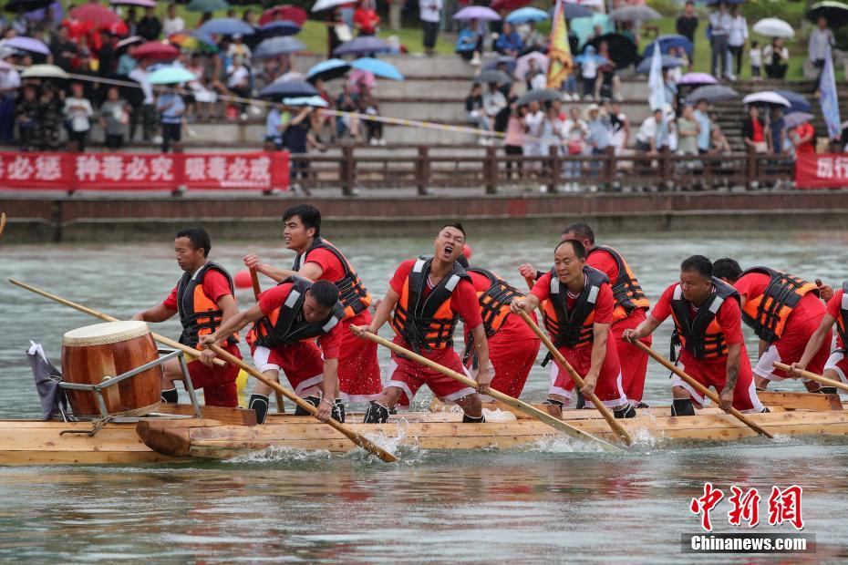 2021年全国独木龙舟邀请赛在贵州施秉开赛