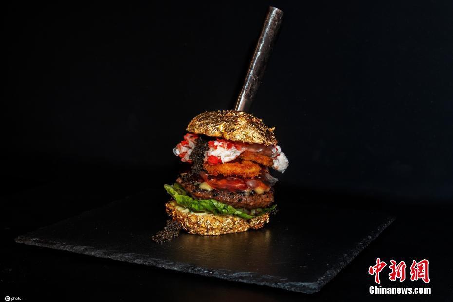 荷兰餐厅推出世界最贵汉堡价值3.8万 每吃一口都是人生放纵体验!