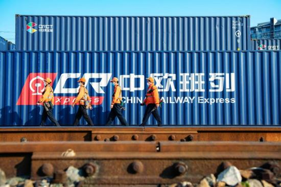 Horgos Port in Xinjiang sees over 5,000 China-Europe freight trains