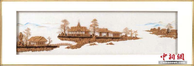 从一块木头里,看到大千世界!福州软木画有多奇妙
