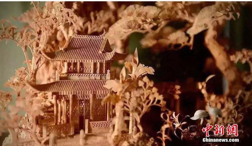 福州软木画:从一块木头里,看到大千世界!