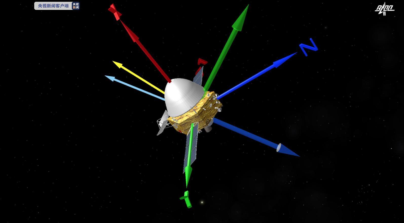 天问一号探测器完成深空机动 深空机动与轨道修正有啥区别?