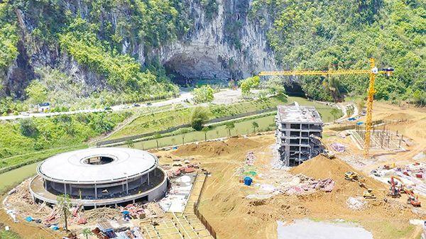 公园保护为项目让路 凤山世界地质公园遭破坏性开采
