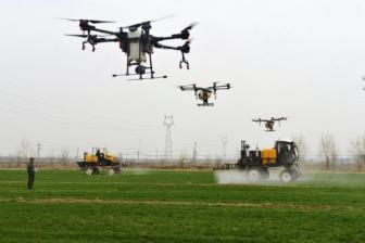 Drones, data saving seeding season
