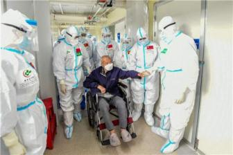 Medical teams epitomize country's commitment to fight against virus