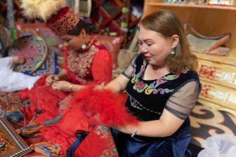 Preserving Kazak culture, stitch by stitch