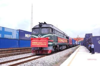 China-Europe trains departing from Greater Bay Area up 83.4%