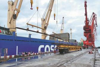 China ships last batch of rails for Indonesian high-speed train project