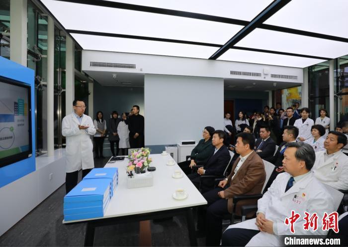 北京探索医企合作新实践 成立朝阳医院科创中心