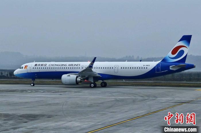 这架新飞机将为重庆春运提供运力保障。 游超杰 摄