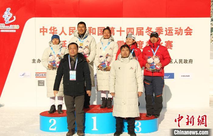 黑龙江女队包揽前三名,男队夺一金一铜 黑龙江省体育局提供