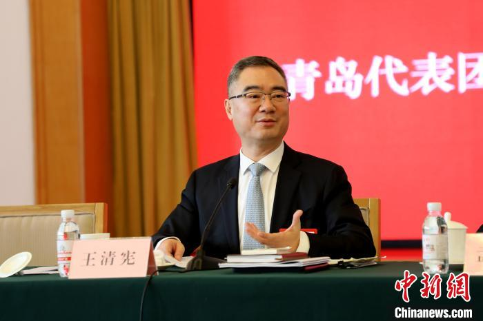 山东省人代会首次媒体开放日黄河生态、自贸区成关键词