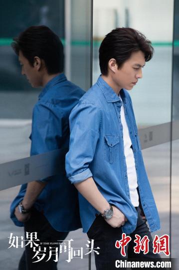 演員靳東。 受訪者供圖 攝