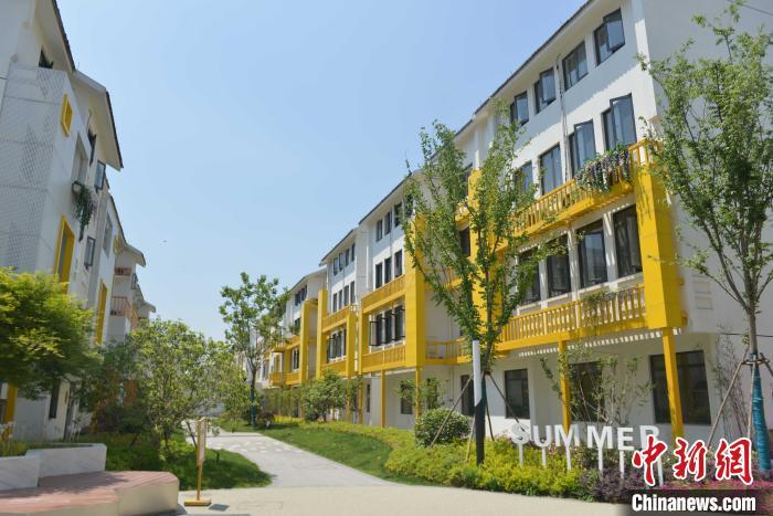 图为:杭州市瓜山未来社区。 商泽阳 摄