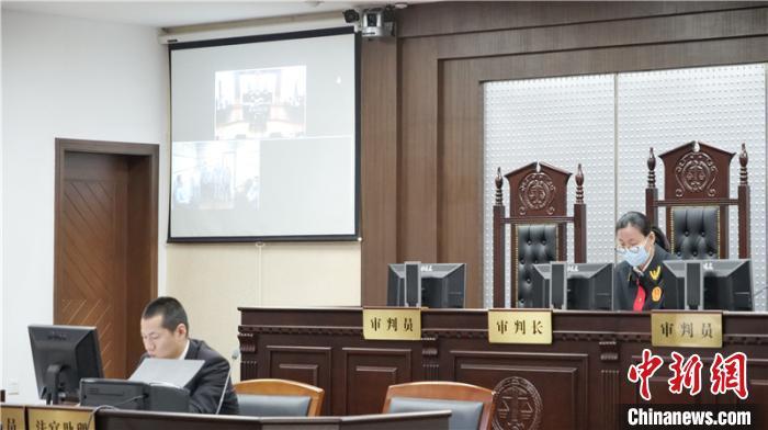 舟山市中级人民法院审理现场。 陈晓迪 摄