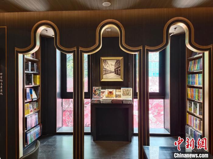 书店与岭南特色相融合 姬东 摄