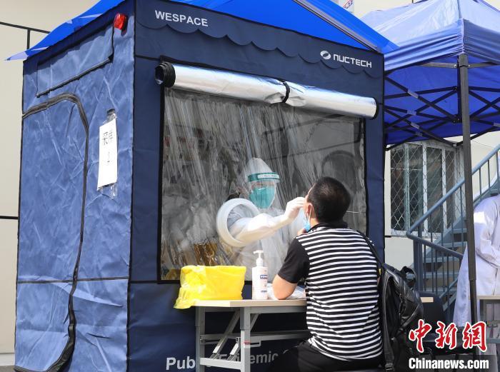 防疫采样隔离舱在京投入使用可空调降温、紫外线杀毒