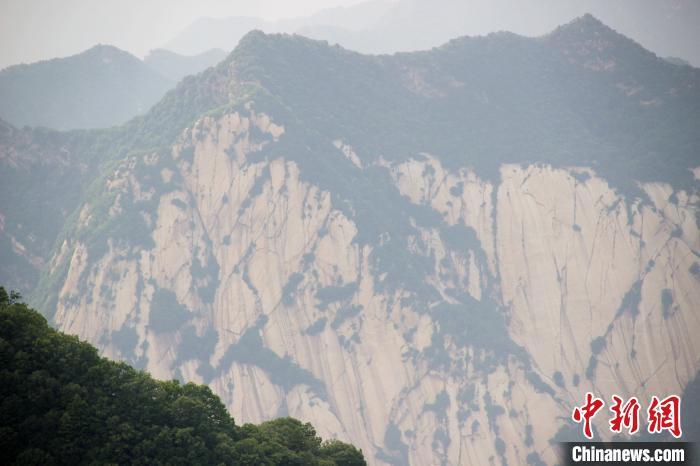 圖為西岳華山。資料圖 張一辰 攝