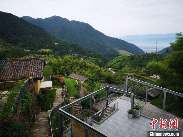 浙江丽水松阳一处传统村落打造民宿。 范宇斌 摄