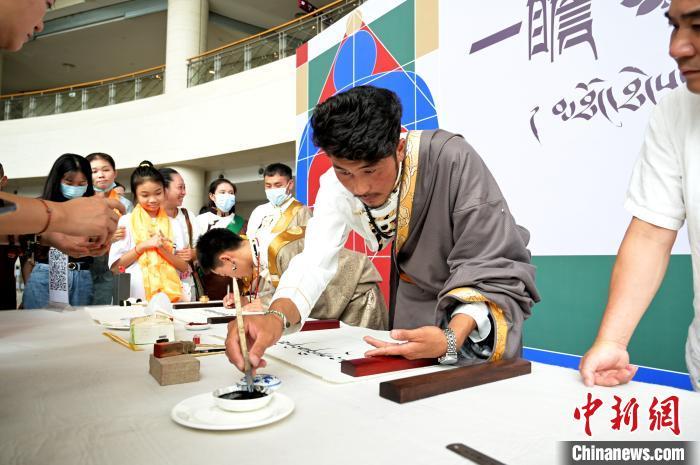 52幅舊勉唐派唐卡作品在廣西南寧博物館開展