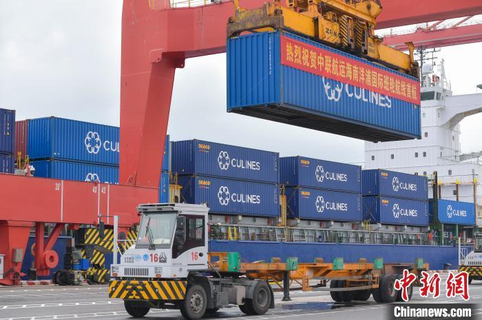 中越SHX(海南省洋浦——越南海防)国际性集装箱班轮航线29