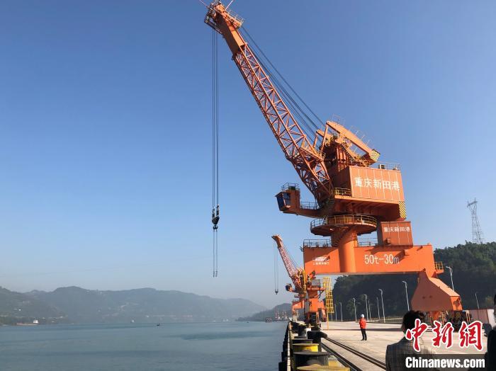 通江达海重庆万州全力推进新田枢纽港项目建设