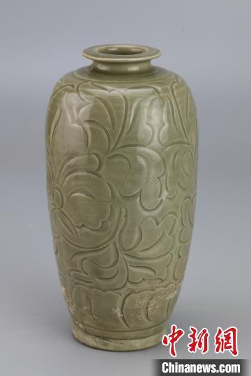 梅瓶。陜西省考古研究院供圖