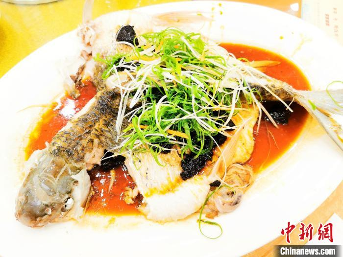 姜葱煎焖鲮鱼 李晓春 摄
