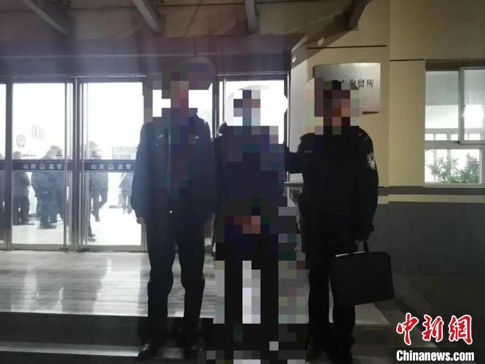 韩某因寻衅滋事被依法予以行政拘留十五日。长治市公安局供图