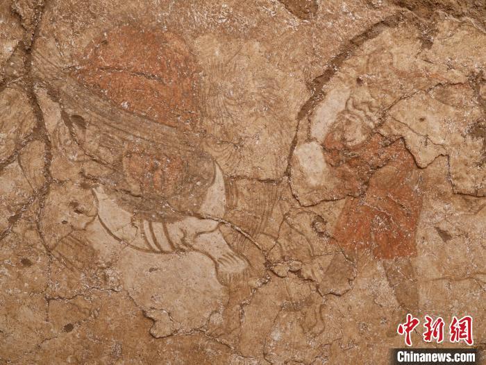 """陕西发现两座唐代纪年壁画墓 一墓主为""""弼马温"""""""