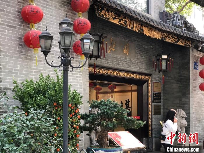 图为广州三大园林酒家中的北园酒家,创建于1928年。 孙秋霞 摄