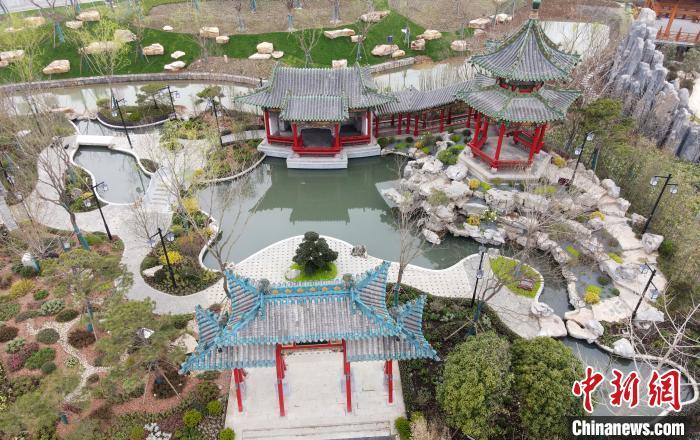 2021年扬州世园会开园在即 民众不出国门一览世界园艺景观