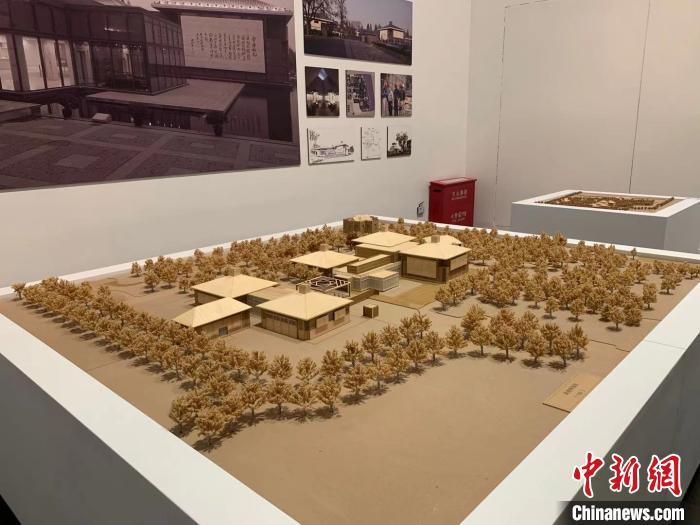 南通博物苑三维建筑模型 马帅莎 摄