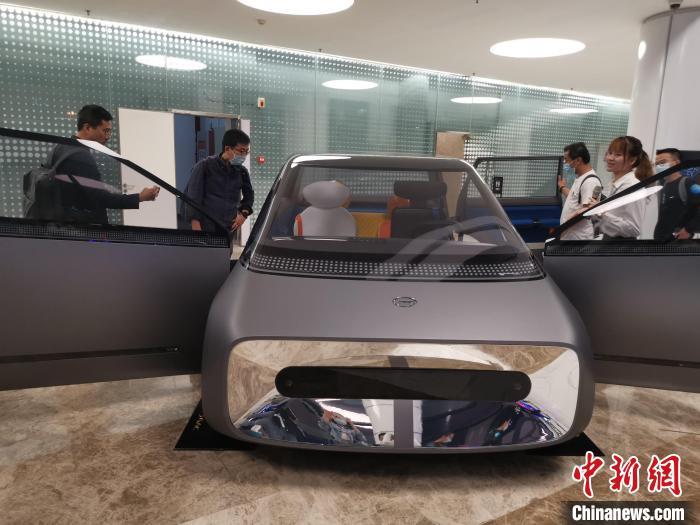 """广汽集团发布以动力电池技术为主打的""""中子星战略"""""""