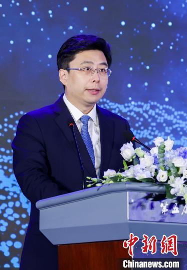 杭州市委常委、副市长胥伟华致辞。 主办方 供图 摄