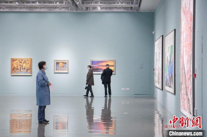 """衡水seo_""""一叶之春——高占祥艺术作品展""""亮相嘉德艺术中央插图2"""