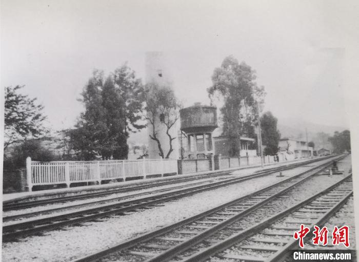 图为1929年可保村车站党支部旧址(资料图)。 杨益忠供图 摄