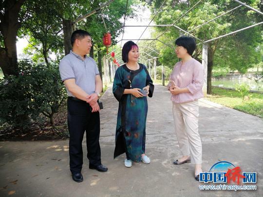 桂林市委统战部领导走访调研雁山区侨资企业