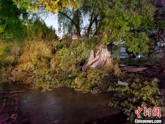 苏州盛泽遭遇龙卷风 已致1人死亡2人重伤19人轻伤